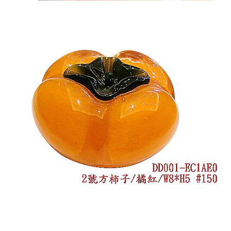 2號方柿子 (橘紅/金箔L1)
