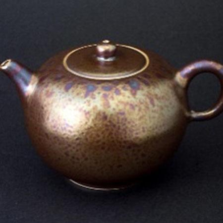 金茶壺-圓滿