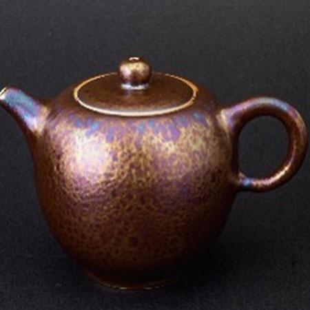 金茶壺-美人肩