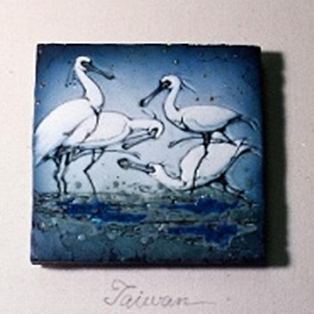 R180琵鷺之舞(藍四方4黑面琵鷺)