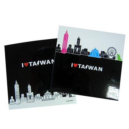 印象台灣瓷磚貼紙