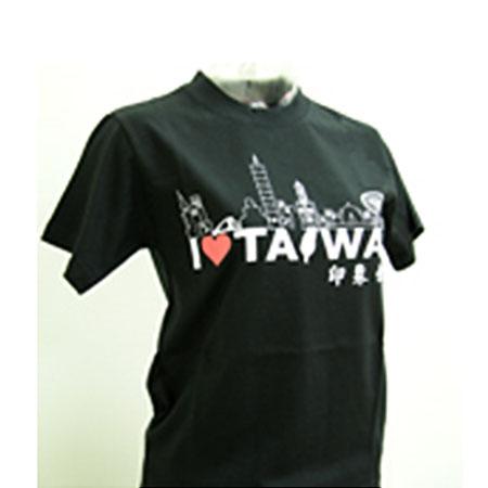 印象台灣T恤(黑)