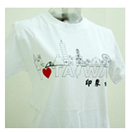 印象台灣T恤(白)