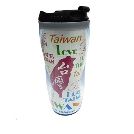 我愛台灣隨手杯-白