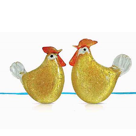 金起雞 (一對)