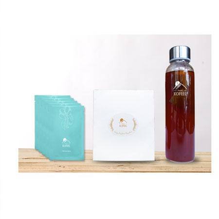璞系列-茶袋式袖珍盒(5入)+KOFEEL時尚瓶組