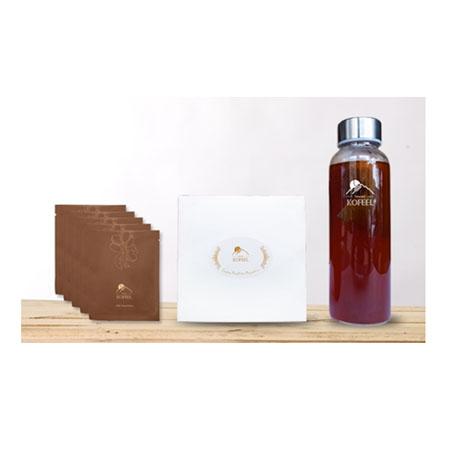 醇系列-茶袋式袖珍盒(5入)+KOFEEL時尚瓶組