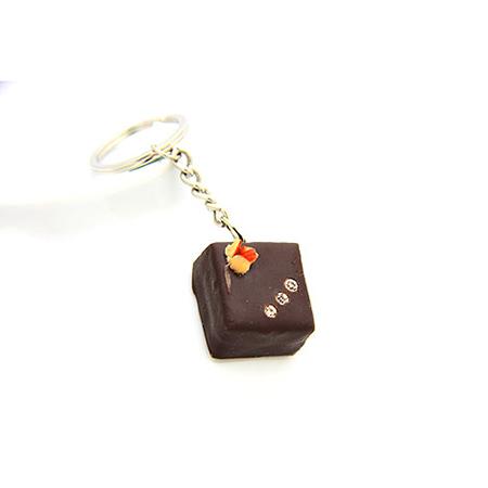 巧克力鎖圈-黑方
