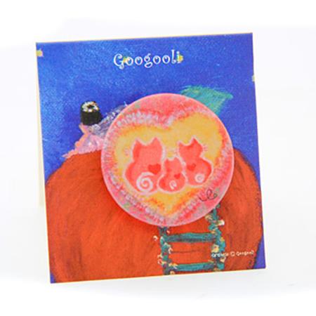 googooli胸章-幸福