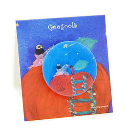 googooli胸章-沒野心